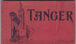 TANGER, 20 VUES DETACHABLES. LL. CIRCA 1900s. PHOTOSET GRUSS AUS LEMBRANÇA SOUVENIR - BLEUP - Tanger