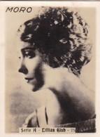 CILLIAN GISH. MORO. CARD TARJETA COLECCIONABLE TABACO. CIRCA 1940s SIZE 5x6cm - BLEUP - Personalità