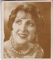 BILLIE DOVE. SUPER CIGARRILLOS. CARD TARJETA COLECCIONABLE TABACO. CIRCA 1930s SIZE 5.5x6.5cm - BLEUP - Personalità