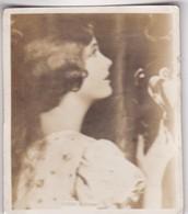 ESTHER RALSTON. SUPER CIGARRILLOS. CARD TARJETA COLECCIONABLE TABACO. CIRCA 1930s SIZE 5.5x6.5cm - BLEUP - Personalità