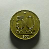 Brazil 50 Centavos 1955 - Brazil