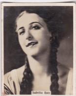 ISABELITA RUIZ. SUPER CIGARRILLOS. CARD TARJETA COLECCIONABLE TABACO. CIRCA 1930s SIZE 5.5x6.5cm - BLEUP - Personalità