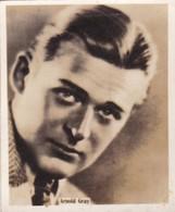 ARNOLD GRAY. SUPER CIGARRILLOS. CARD TARJETA COLECCIONABLE TABACO. CIRCA 1930s SIZE 5.5x6.5cm - BLEUP - Berühmtheiten