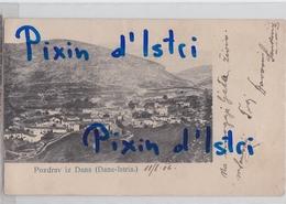 Danne - Pinguente - Istria - 1904. - Oštećena - Collettoria - Mate Sanković - Croatia