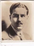 JOHN ROCHE. SUPER CIGARRILLOS. CARD TARJETA COLECCIONABLE TABACO. CIRCA 1930s SIZE 5.5x6.5cm - BLEUP - Personalità