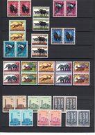 COB / OBP 205 - 216 + 225 - 230 In Paar / En Paire - ** - MNH - Postfris - Fraicheur Postale (1959 - 1961) - Ruanda-Urundi