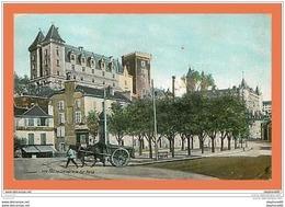 A213/189 64 - PAU - Le Chateau Et La Rue Marca - France
