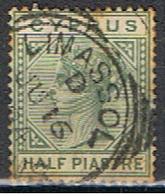 (XIP 15) CYPRUS //  YVERT 16 // 1882-86 - Chypre (...-1960)