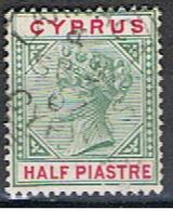 (XIP 24) CYPRUS //  YVERT 24 // 1894-96 - Chypre (...-1960)