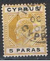 (XIP 32) CYPRUS //  YVERT 44 // 1904-08 - Chypre (...-1960)