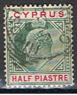 (XIP 40) CYPRUS //  YVERT 46 // 1904-08 - Chipre (...-1960)