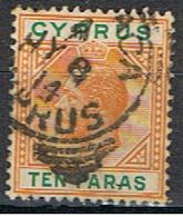 (XIP 48) CYPRUS //  YVERT 56 // 1912 - Chipre (...-1960)
