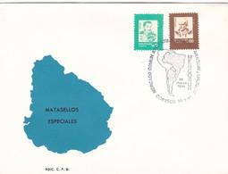 MERCOSUR. MERCADO COMUN ARGENTINA BRASIL PARAGUAY Y URUGUAY-FDC 1991 URUGUAY - BLEUP - Uruguay
