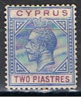 (XIP 135) CYPRUS //  YVERT 60 // 1912 - Chipre (...-1960)