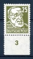 DDR MiNr. 334 Z X I Postfrisch MNH Geprüft Schönherr (DD485 - DDR