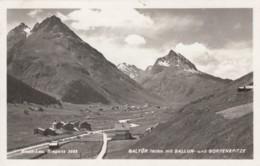 Risch-Lau Bregenz Austria, Moutains Galtur Ballun Gorfenspitze, Sc#510 Mi#DR 785 Stamp Used, C1940s Vintage Postcard - Bregenz