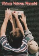 Vietnam War Veterans Memorial Washington DC, Names Of War Dead, C1990s/2000s Vintage Postcard - War Memorials