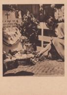 Prague May 1945 Memorial In Street Liberations Celebration, C1940s Vintage Postcard - War 1939-45