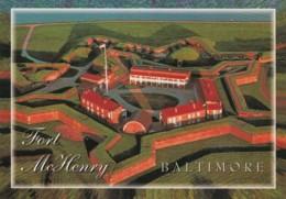 Fort McHenry Baltimore Maryland, Defense In War Of 1812, Star-spangled Banner Inspiration, C2000s Vintage Postcard - Other Wars