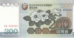 North Korea #48 200 Won 2005 Banknote - Korea, North