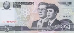 Lot Of 3 North Korea #58 5 Won, #59 10 Won And #60 50 Won 2002 Banknotes - Korea, North