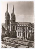 29 Quimper Cathédrale Saint Corentin (2 Scans) - Quimper