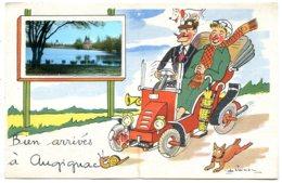 24300 AUGIGNAC - Tacot, Escargot, Chien - Petite Vue D'un Des Nombreux étangs - CPSM 9x14 - France