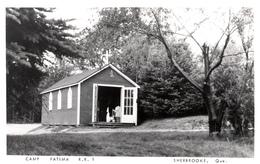Real Photo Véritable - Sherbrooke Québec - Camp Fatima - Written In 1959 - Stamp & Postmark - 2 Scans - Sherbrooke