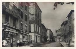 """CPSM FRANCE 69 """"Cours, Grande Rue"""" - Cours-la-Ville"""