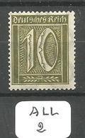 ALL Mi 178 ** - Unused Stamps