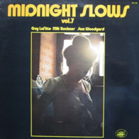 * LP *  MIDNIGHT SLOWS VOL.7 - GUY LAFITTE, MILT BUCKNER, SAM WOODYARD (France 1976) - Jazz