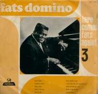 * LP *  FATS DOMINO - HERE COMES FATS AGAIN ! 3 (Holland 1963) - Rock
