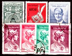 Siria-00177 - Posta Aerea 1962-63 (++/o) MNH/Used - Senza Difetti Occulti. - Siria