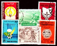 Siria-00178 - Posta Aerea 1964 (++/o) MNH/Used - Senza Difetti Occulti. - Siria