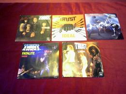 TRUST  /  COLLECTION DE 5 DISQUES TOURS - Colecciones Completas
