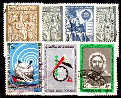 Siria-00182 - Posta Aerea 1966 (++/o) MNH/Used - Senza Difetti Occulti. - Siria