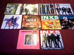 INXS  ° COLLECTION DE 10 / 45  TOURS - Collections Complètes