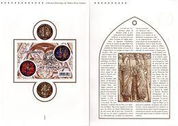 """"""" 800 ANS DE LA CATHEDRALE DE REIMS """" Sur Document Philatélique Officiel 1°Jour De 4 Pages De 2011. N° YT F4549. DPO - Churches & Cathedrals"""
