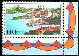 A13-24-9) BRD - Mi 2103 ECKE REU - ** Postfrisch (B) - 110Pf    Passau - [7] República Federal