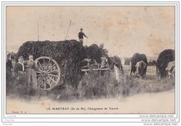 17) LE MARTRAY  (Ile De Ré)  Chargement De Varech - Ile De Ré