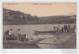 47) Agen - La Pêche Aux Aloses - Agen