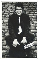B504 Salvatore Adamo Lot 2 Cpa - Sänger Und Musikanten