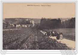 47) TRENTELS  (Lot Et Garonne)  Retour Des Vêpres - Autres Communes