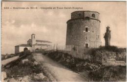 61kps 35 CPA - ENVIRONS DE NICE - CHAPELLE ET TOUR SAINT HOSPICE - Nice
