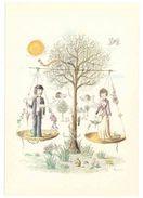 SIGNES DU ZODIAQUE -- 12 CARTES -- D'après R.PEYNET - Lot De 12 Cartes, Tous Les Signes Du Zodiaque (Editeur R Mouret) - Peynet