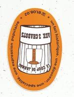 Autocollant , Patisserie- Confiserie , LE COUP DE JARNAC , AUX 3 CHABOTS , 16,  JARNAC - Autocollants