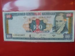 NICARAGUA 100 CORDOBAS 1999 CIRCULER - Nicaragua