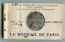 CPA 75 : PARIS  Carnet Complet De 24 Cartes De La Monnaie De Paris   VOIR  DESCRIPTIF  §§§ - Other