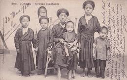 - VIET NAM - Tonkin - Sam Son : Groupe D'enfants - Viêt-Nam