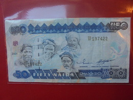 NIGERIA 50 NAIRA 2001 CIRCULER - Nigeria